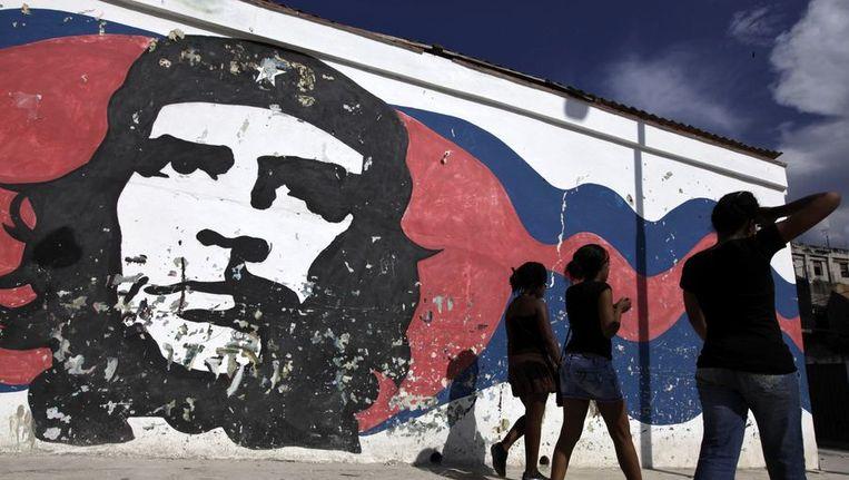 Een portret van Che Guevara. Beeld reuters