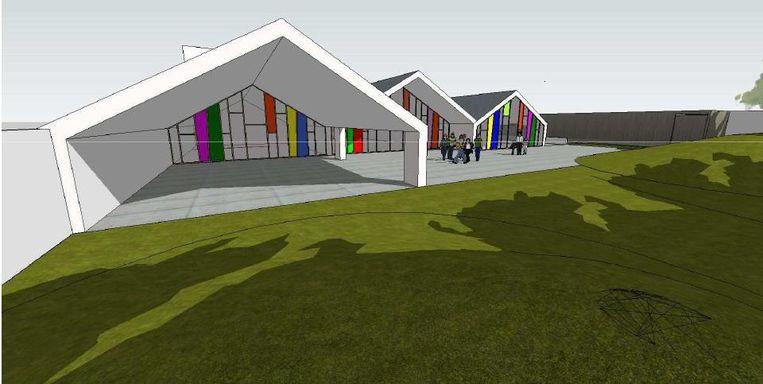 Zo moet de school Kleiheuvel er binnen een jaar uitzien.