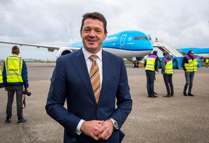 KLM-topman Pieter Elbers.