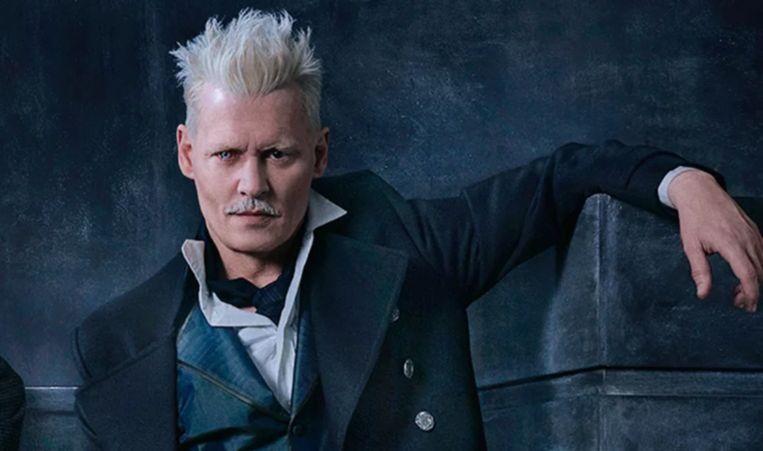 Johnny Depp als Grindelwald.