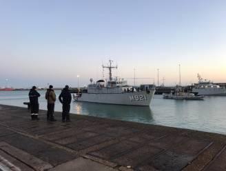 Mijnenjager Lobelia na twee maanden terug thuis van oefening in Middellandse Zee