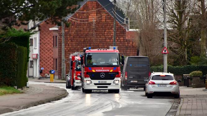 Brandweer ruimt mazoutspoor in enkele straten, veroorzaker onbekend