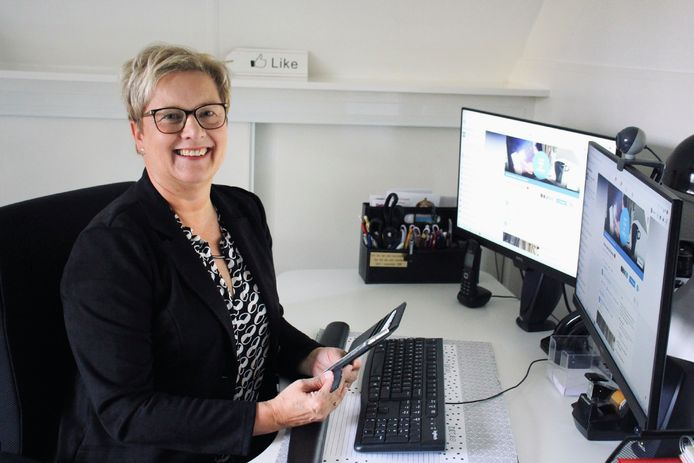 Yvonne van Dijk is de drijvende kracht achter Winkelen en Wonen in Wierden, Leven in en rondom Wierden en nu ook de groep Hart voor de Horeca.