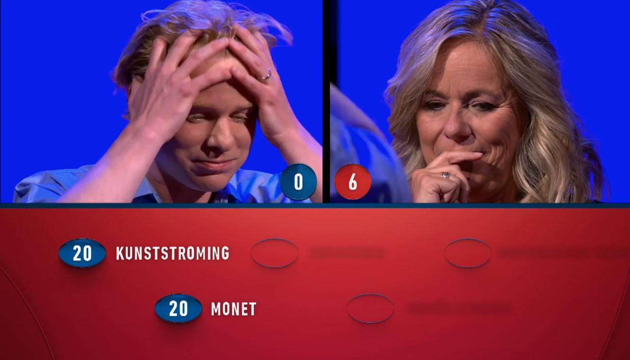 Gijs Rademaker gaat onderuit tegenover Selma van Dijk.