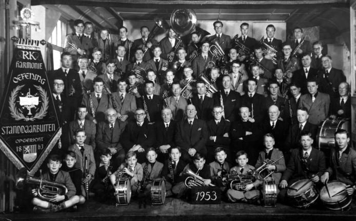 Harmonie Oefening uit Standdaarbuiten in 1953.