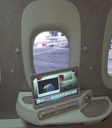 Emirates onderzoekt raamloos vliegtuig