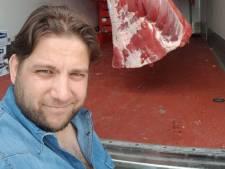 """Insulté, le boucher de Jumet explique son appel au stockage de vivres: """"J'ai paniqué"""""""