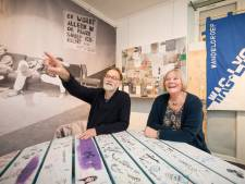 Spiekbriefjes en oude schoolbel terug te zien op Wageningse onderwijsexpositie