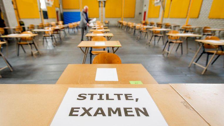 Vanaf vandaag doen 213 duizend leerlingen eindexamen. Beeld ANP