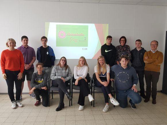 De jonge ondernemers van 't Saam campus Cardijn