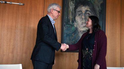 Astrid Pollers (N-VA) legt eed af als burgemeester