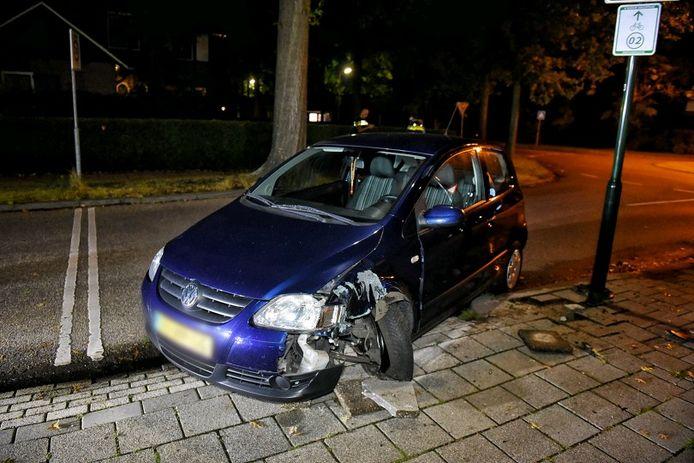 Ongeval in Oisterwijk.