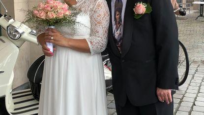 Na bijna zes jaar wachten eindelijk getrouwd