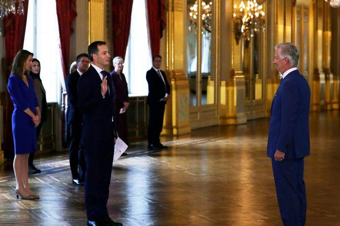 Alexander De Croo et son gouvernement ont prêté serment auprès du Roi.