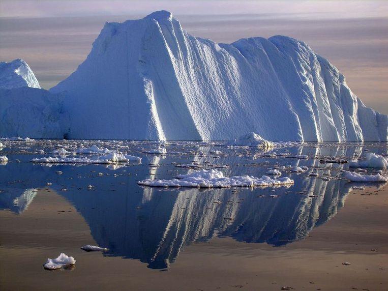 Smeltend ijs op de Noordpool. Beeld reuters
