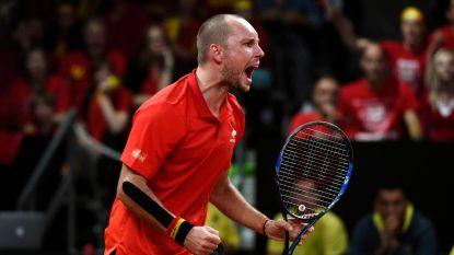 """'Mister Davis Cup' Steve Darcis klaar om België nu wel trofee te bezorgen: """"Je speelt voor je land, je volk, je ploeg. Dan wil je niet afgaan"""""""