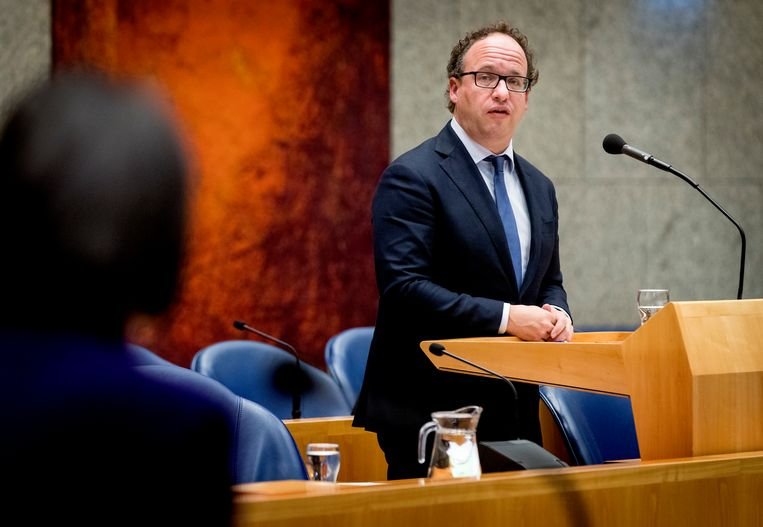 Wouter Koolmees, minister van Sociale Zaken en Werkgelegenheid. Beeld ANP