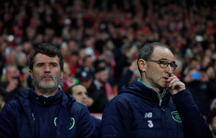 Roy Keane en Martin O'Neill.
