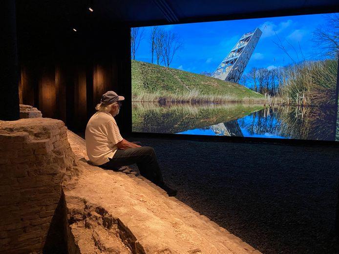Onderdeel van de ondergrondse beleving is een videopresentatie over de vestingwerken.