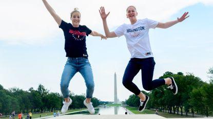 WNBA-kampioenen Meesseman & Mestdagh over leven in de States en een bezoekje aan Trump