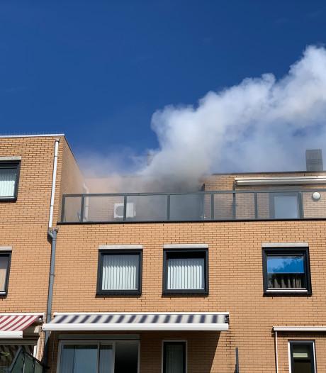 Veel schade door brand in woning aan Oude Haagweg