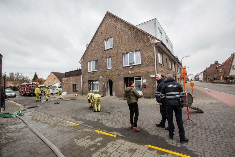 De brandweer kon voorkomen dat de brand escaleerde.