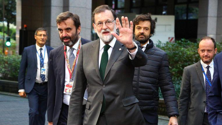 De Spaanse premier Mariano Rajoy. Beeld afp