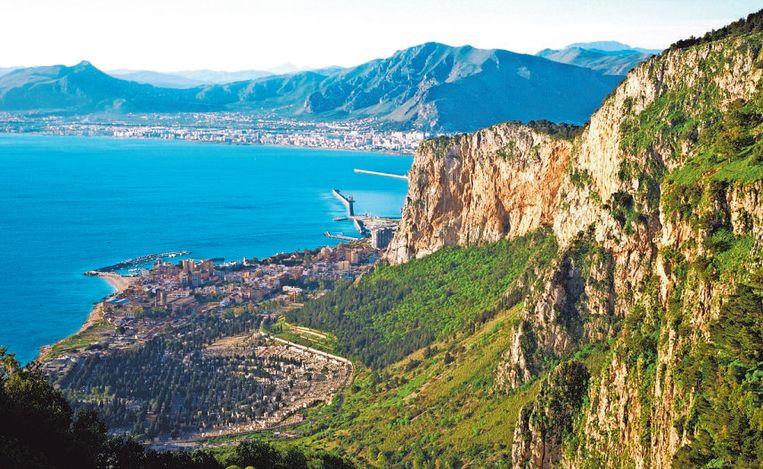 Palermo vanuit de lucht
