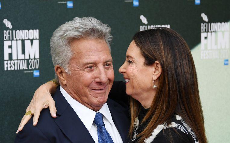 Dustin Hoffman en zijn vrouw Lisa Hoffman.