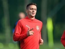 Tadic mist oefenduel van Servië met Duitsland