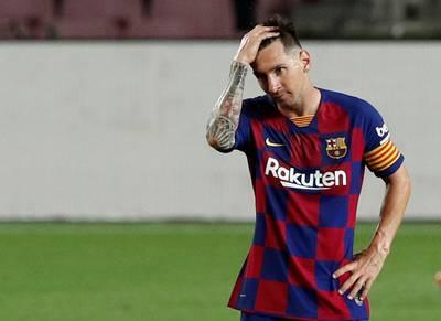 """La rumeur folle: """"Lionel Messi envisage de quitter le Barça"""""""