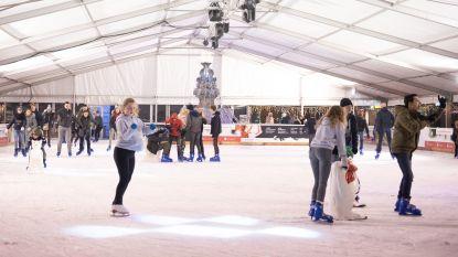 Record: ijspiste op Markt in Oudenaarde lokte maar liefst 14.061 schaatsers