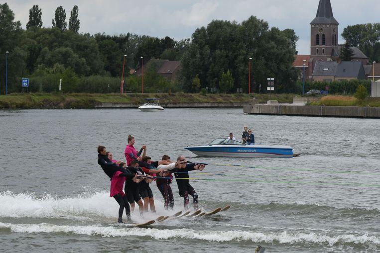 Flagrant Waterski show jachthaven van Grimbergen