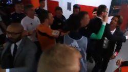 Kraker liep vooral tijdens de rust uit de hand: assistent Anderlecht en Sa Pinto moeten uit elkaar worden gedreven