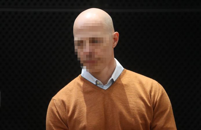 Jean-Gabriel Matterne devant la cour, à Mons, jeudi dernier