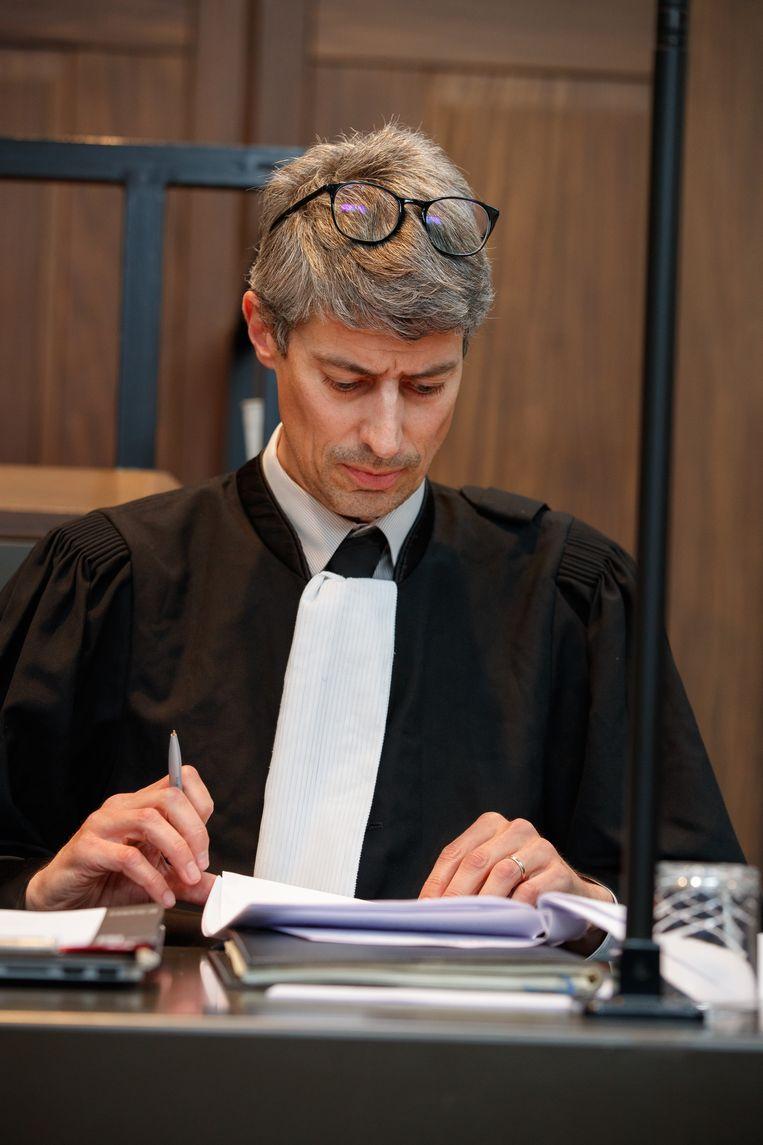 Advocaat Hans Beerlandt.