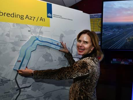 Minister is na verbreding A27 nog lang niet klaar met snelwegen rond Utrecht