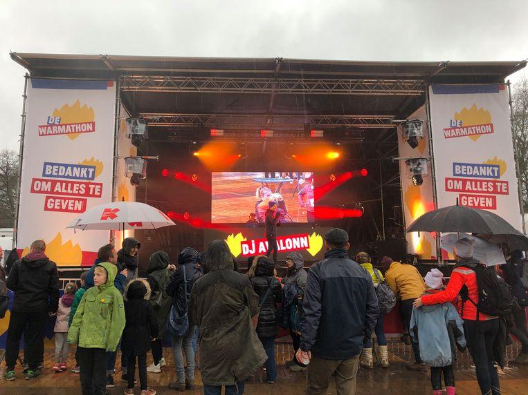 Het was een regenachtige maar sfeervolle Leuvense Warmathon