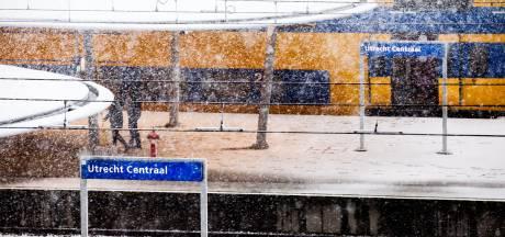 Minder treinen vanwege verwachte sneeuwval