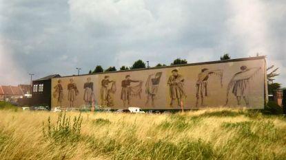 Nieuwe graffiti zet band met Spaanse zusterstad in de verf