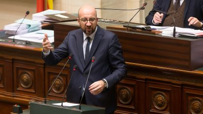"LIVE. Calvo stelt premier Michel voor keuze: ""Coalition of the willing of N-VA"""