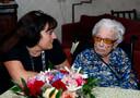 Loco-burgemeester bezocht mevrouw Kuijntjes vorig jaar, toen ze 112 jaar werd.