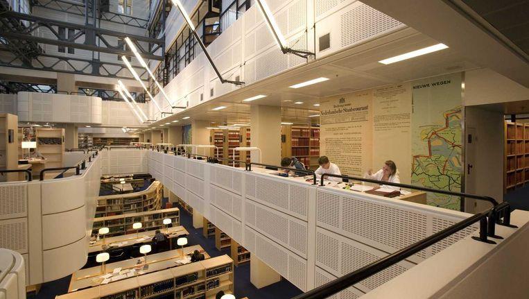 De Koninklijke Bibliotheek in Den Haag Beeld anp