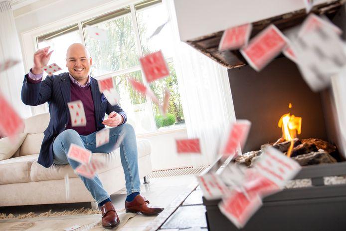 Goochelaar Michel van Zeist uit Veenendaal
