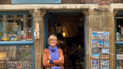 """Martine van souvenirwinkel Craenkindershuys onzeker over de toekomst: """"Van één klant per uur kan ik niet leven"""""""