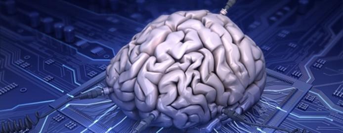 Hersencellen op een chip.