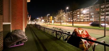 Dakloze Bredanaar slaapt in vrieskou: 'Het valt wel mee hoor'