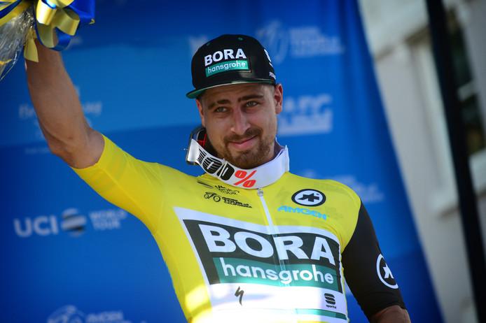 Peter Sagan wint de eerste etappe in de Ronde van Californië.