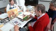 Leerlingen HH College Halle organiseren cultuurdag bij WZC Vander Stokken: senioren genieten van verschillende workshops