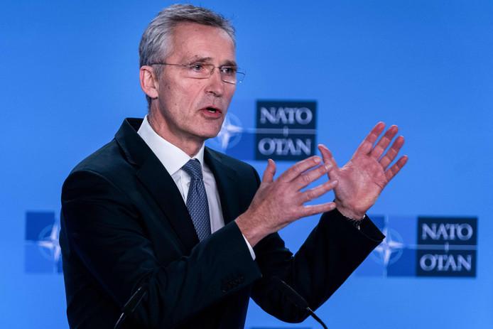 Le secrétaire général de l'Otan, Jens Stoltenberg.